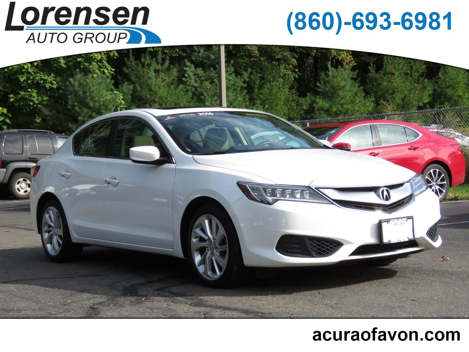 Certified Pre Owned 2016 Acura ILX 4dr Sdn 4dr Car in Watertown