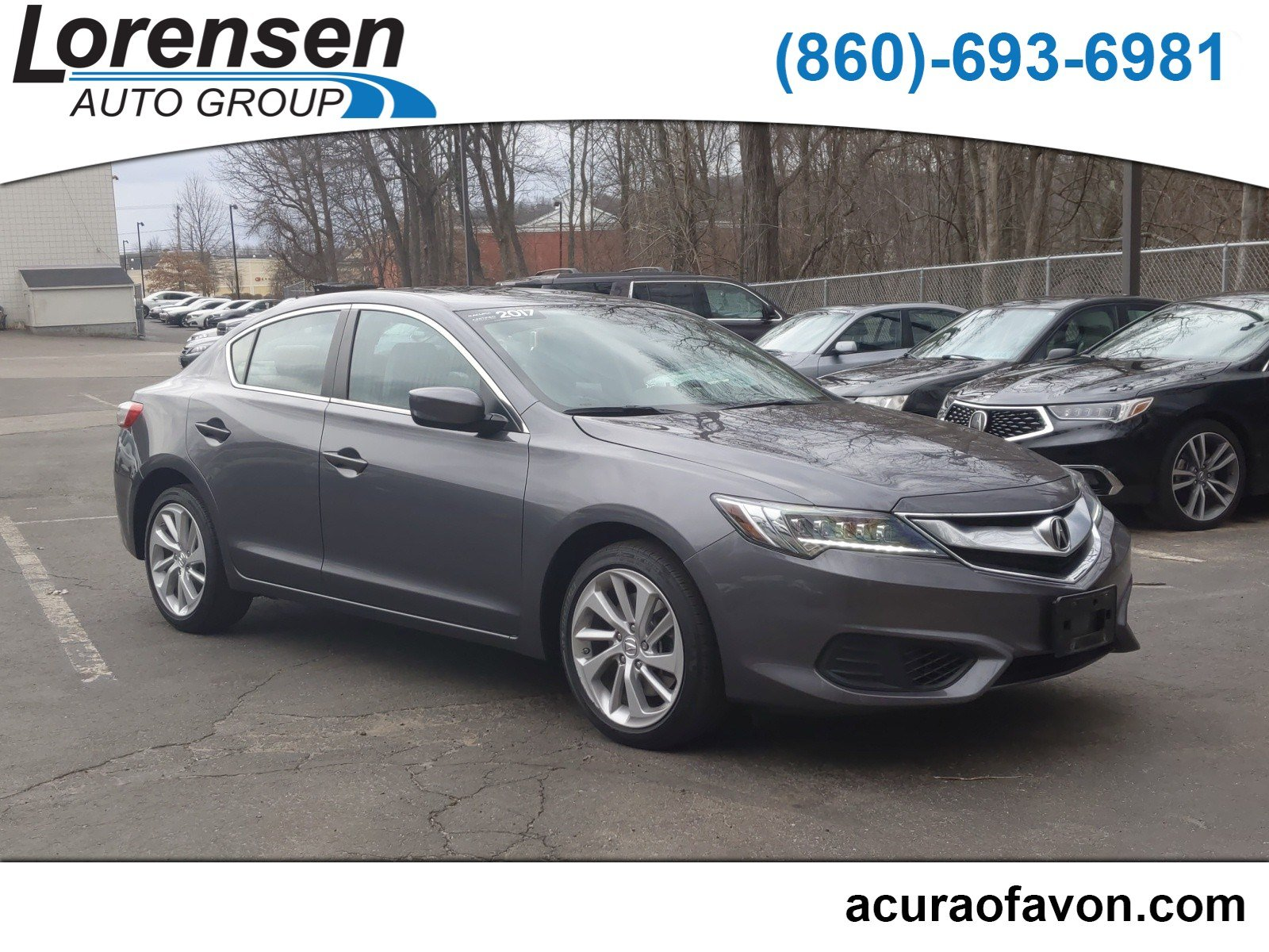 Certified Pre-Owned 2017 Acura ILX Sedan