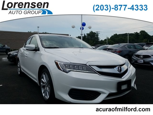 Certified Pre-Owned 2017 Acura ILX w/Technology Plus Pkg