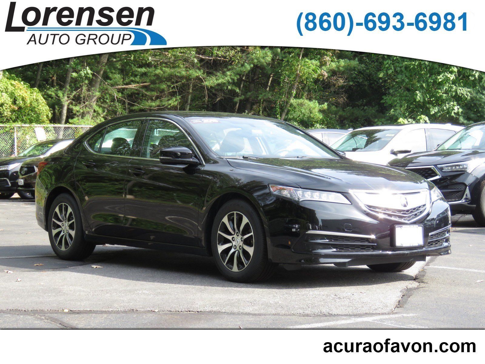 Certified Pre Owned 2015 Acura TLX 4dr Sdn FWD 4dr Car in Watertown