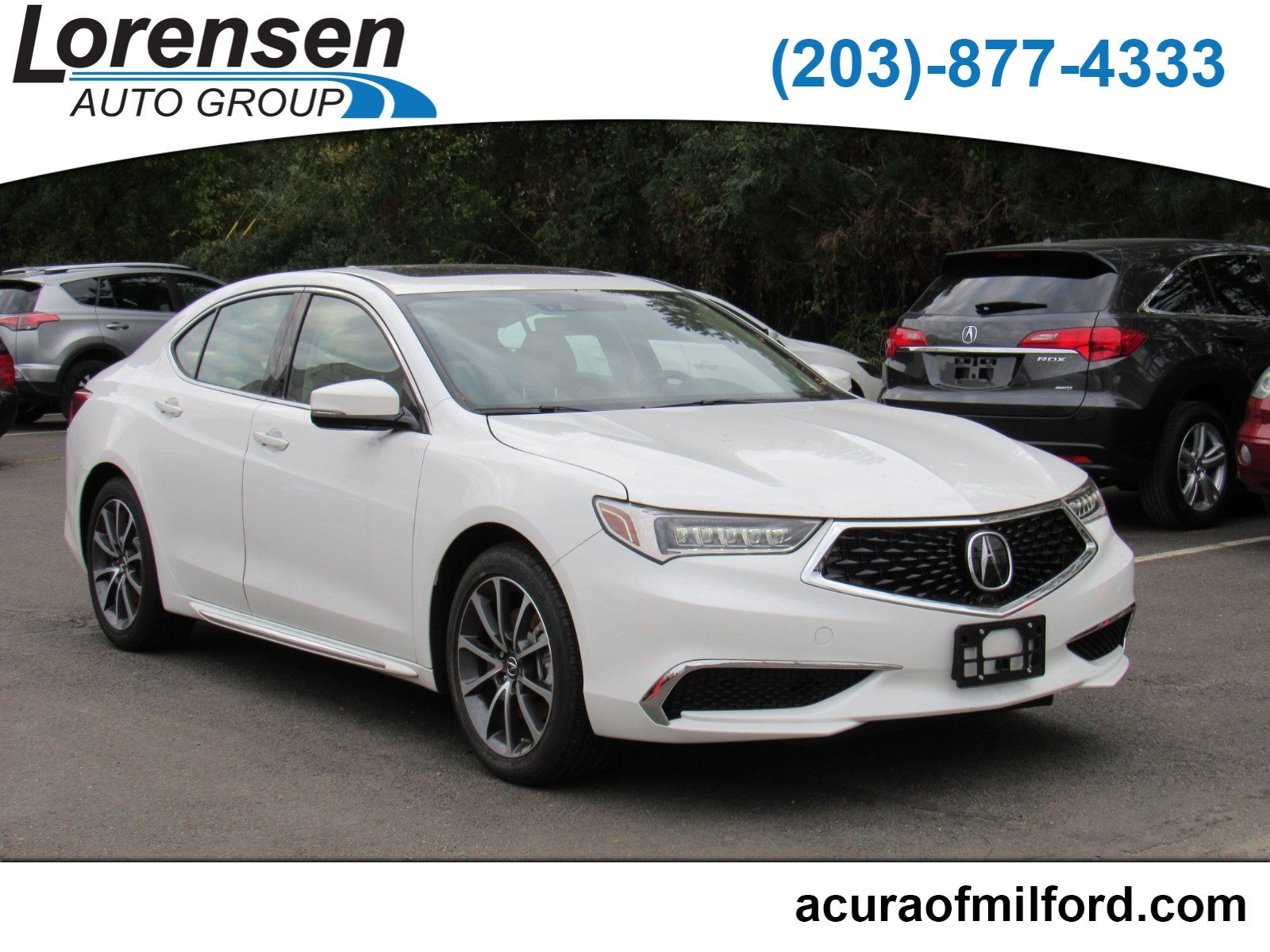 Certified Pre Owned 2018 Acura TLX w Technology Pkg 4dr Car in