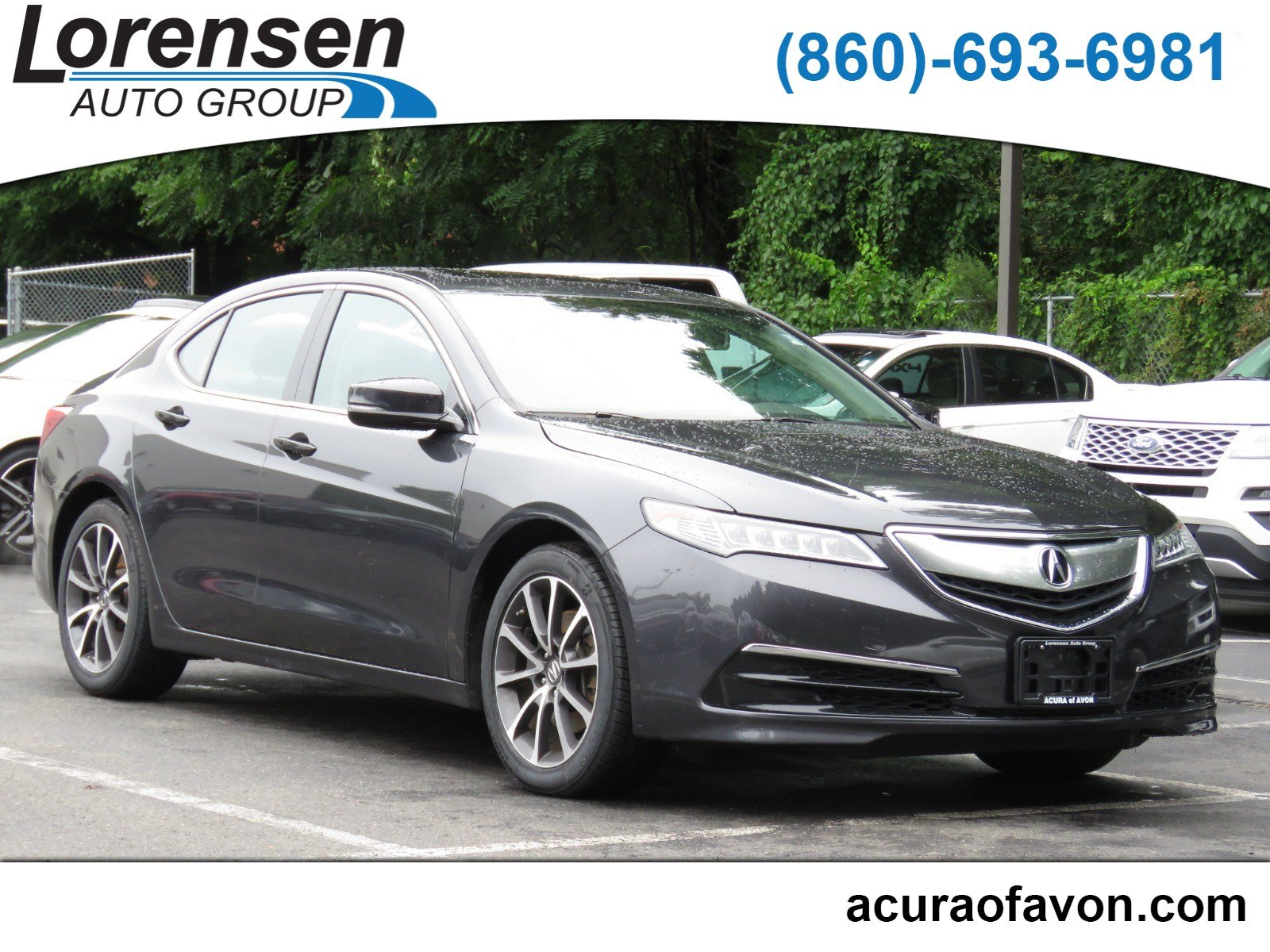 Certified PreOwned Acura TLX V Tech Dr Car In Watertown - Pre own acura