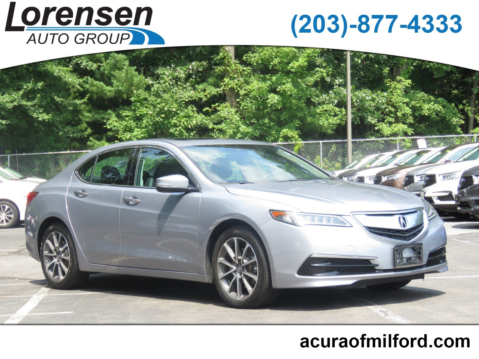 Certified Pre Owned 2015 Acura TLX V6 Tech 4dr Car in Watertown