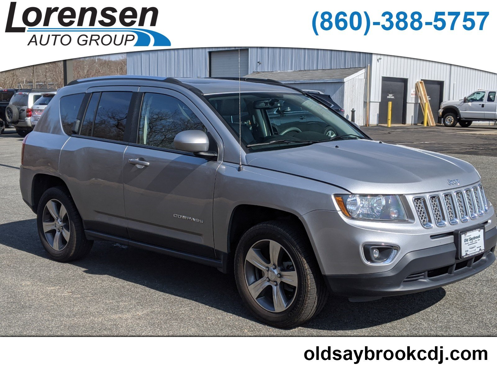 Certified Pre-Owned 2016 Jeep Compass High Altitude Edition