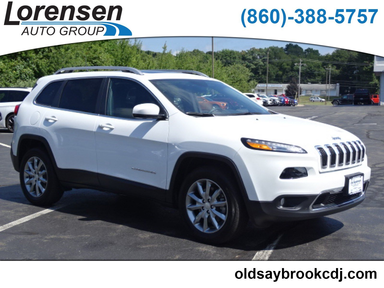 Pre Owned 2018 Jeep Cherokee Limited