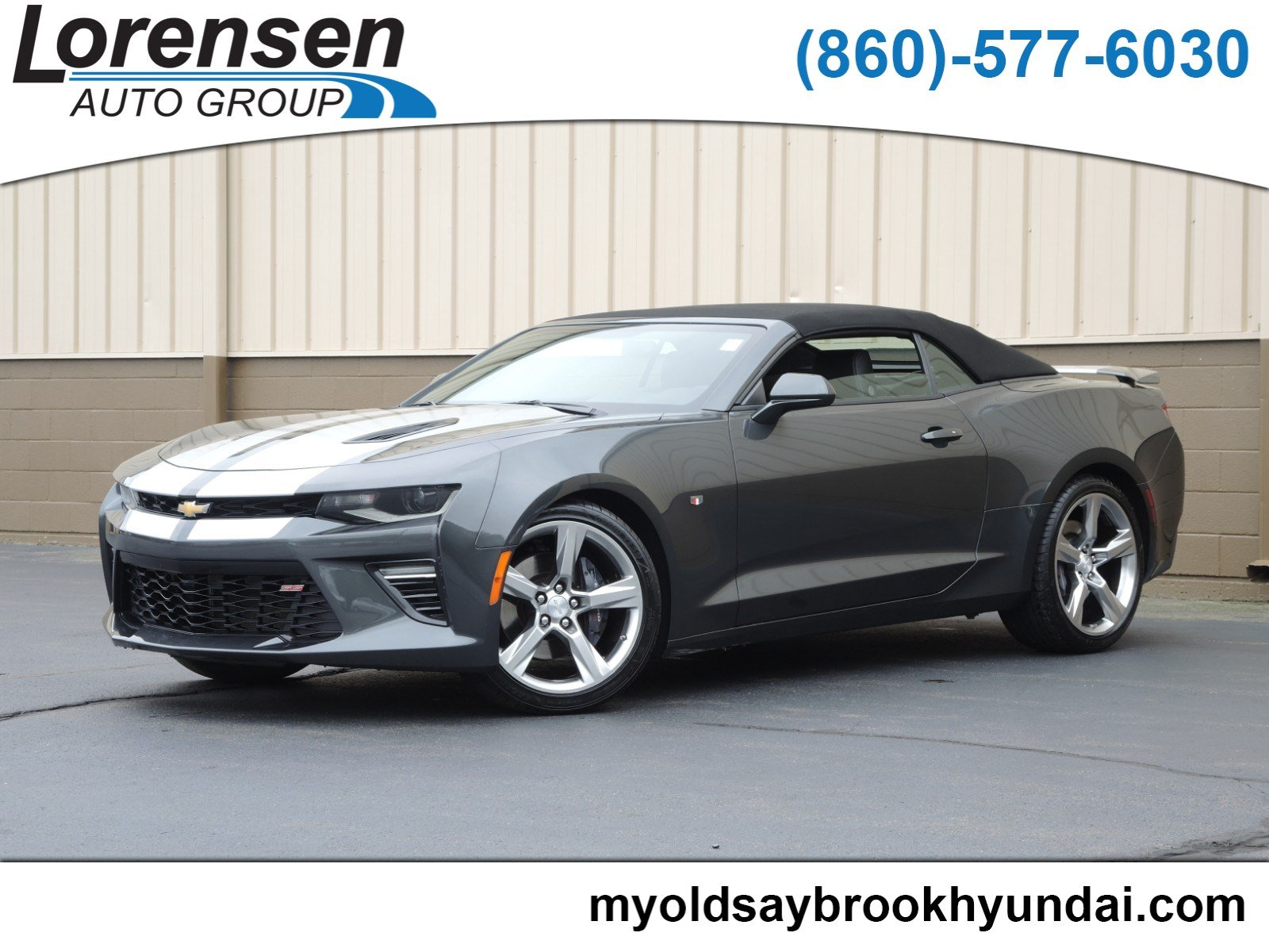 Pre-Owned 2018 Chevrolet Camaro 1SS