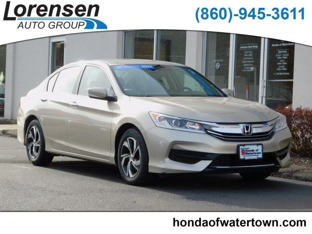 Certified Pre Owned 2017 Honda Accord Lx Cvt