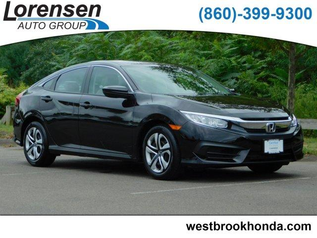 Certified Pre Owned 2018 Honda Civic LX CVT