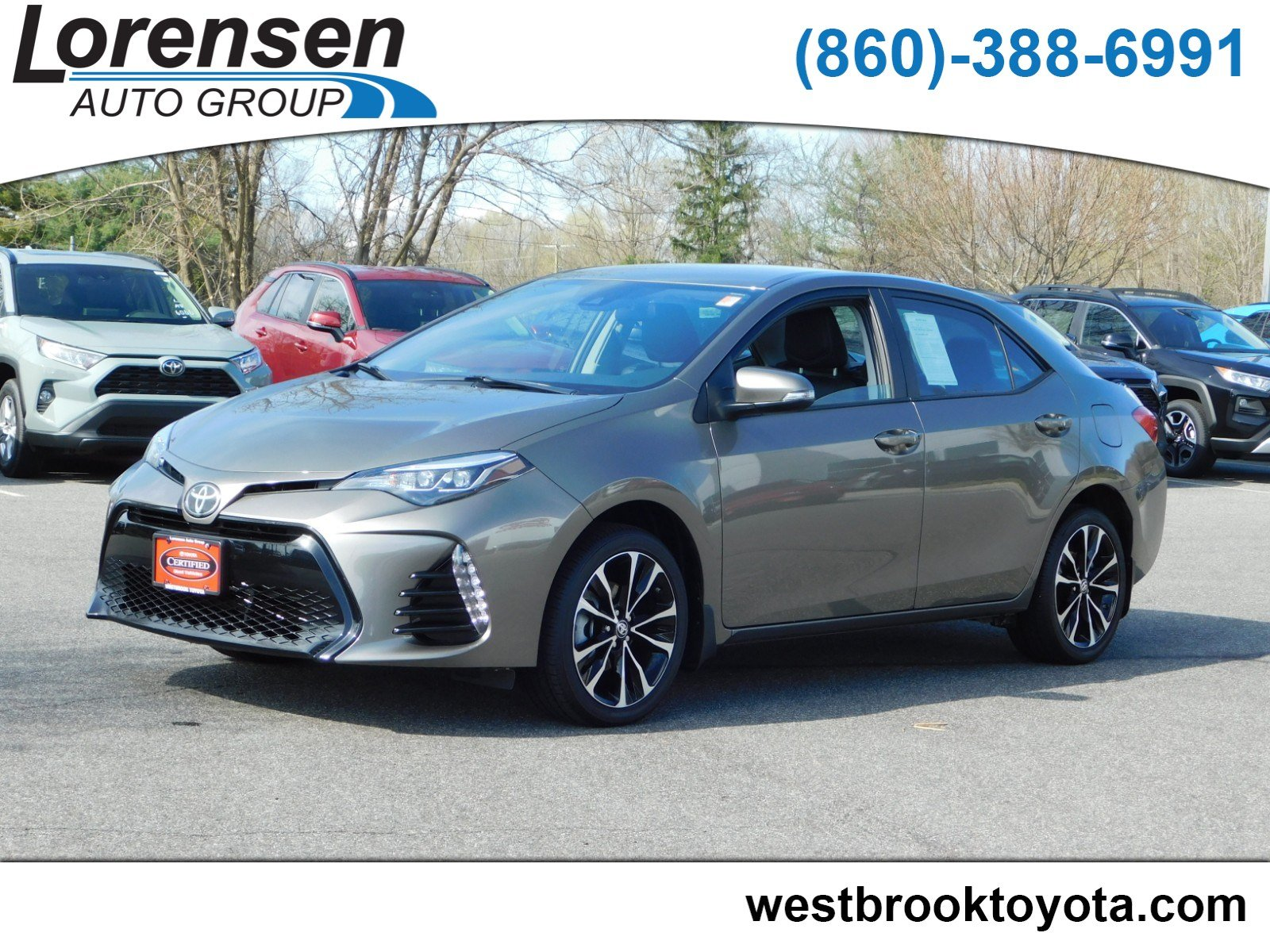 Certified Pre Owned 2018 Toyota Corolla Se