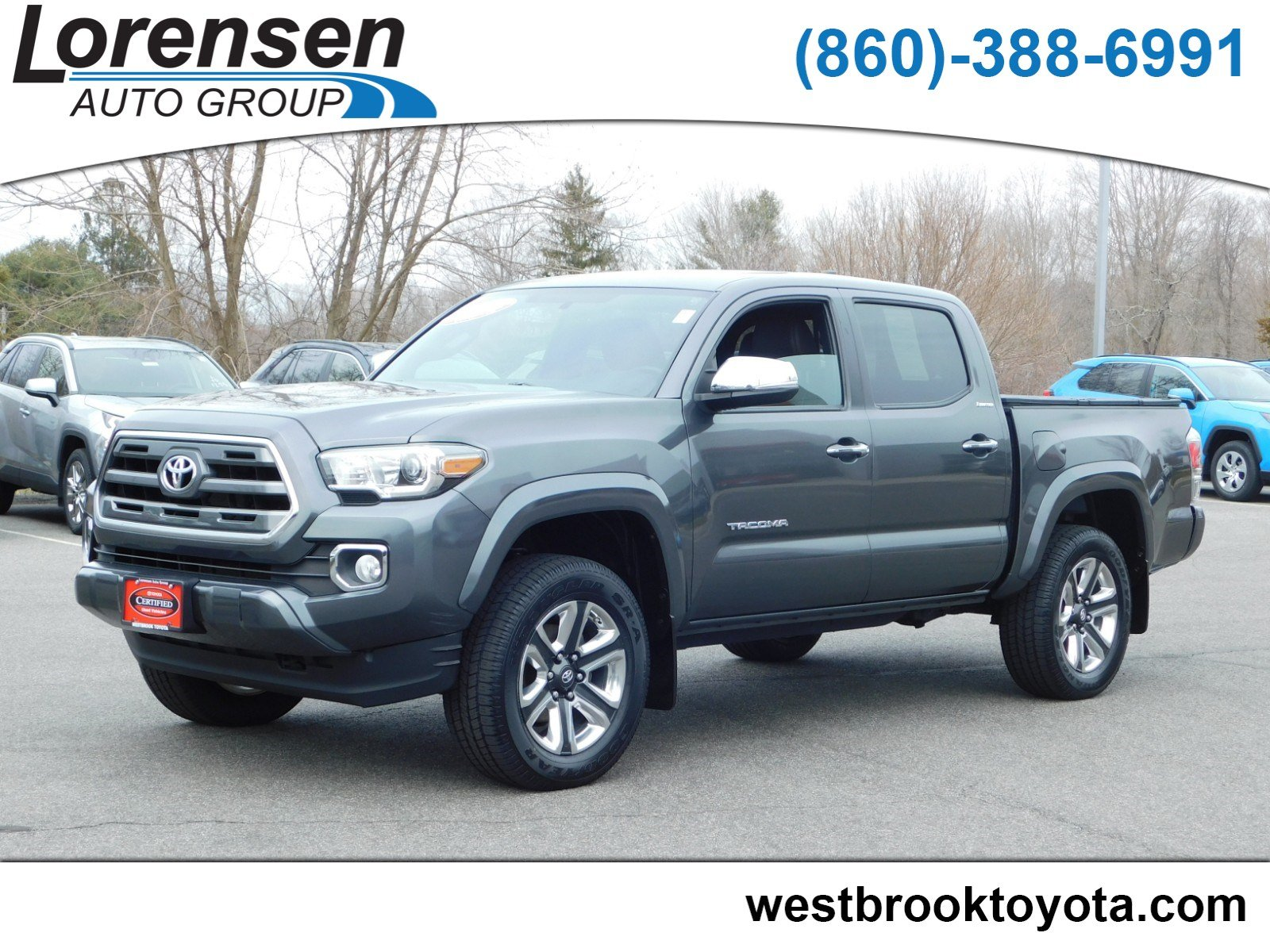 Certified Pre Owned 2017 Toyota Tacoma Limited