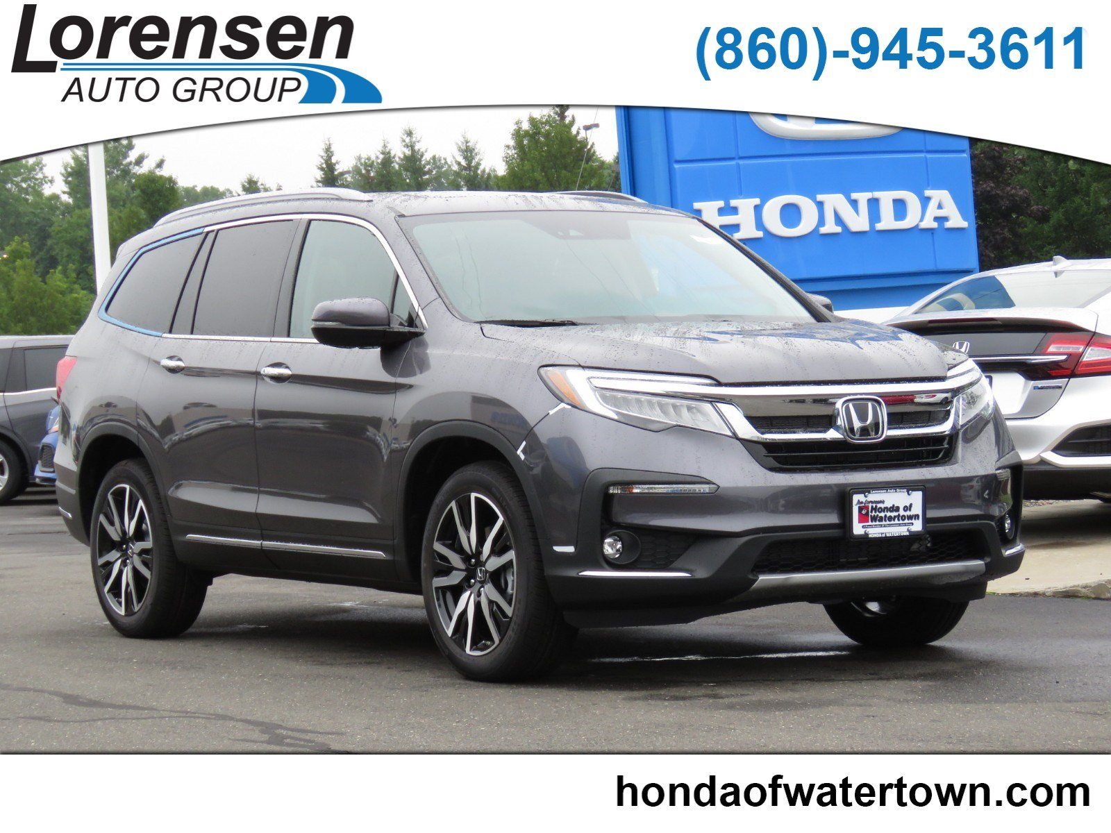 New 2019 Honda Pilot Elite Sport Utility In Watertown 190016