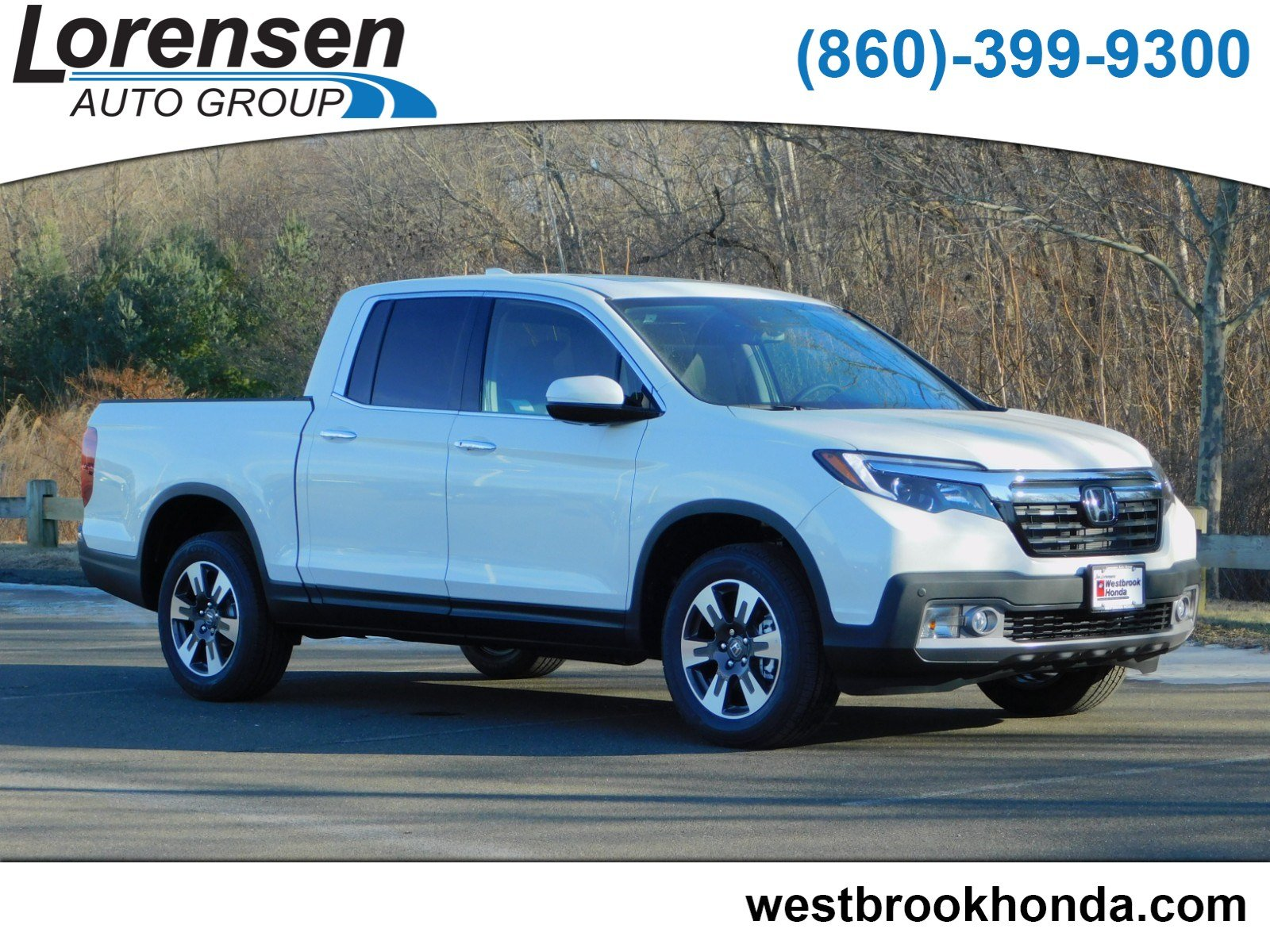 New 2019 Honda Ridgeline Rtl E Crew Cab Pickup In Watertown 190194