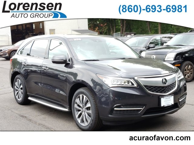 Certified Pre-Owned 2016 Acura MDX w/Tech/Entertainment
