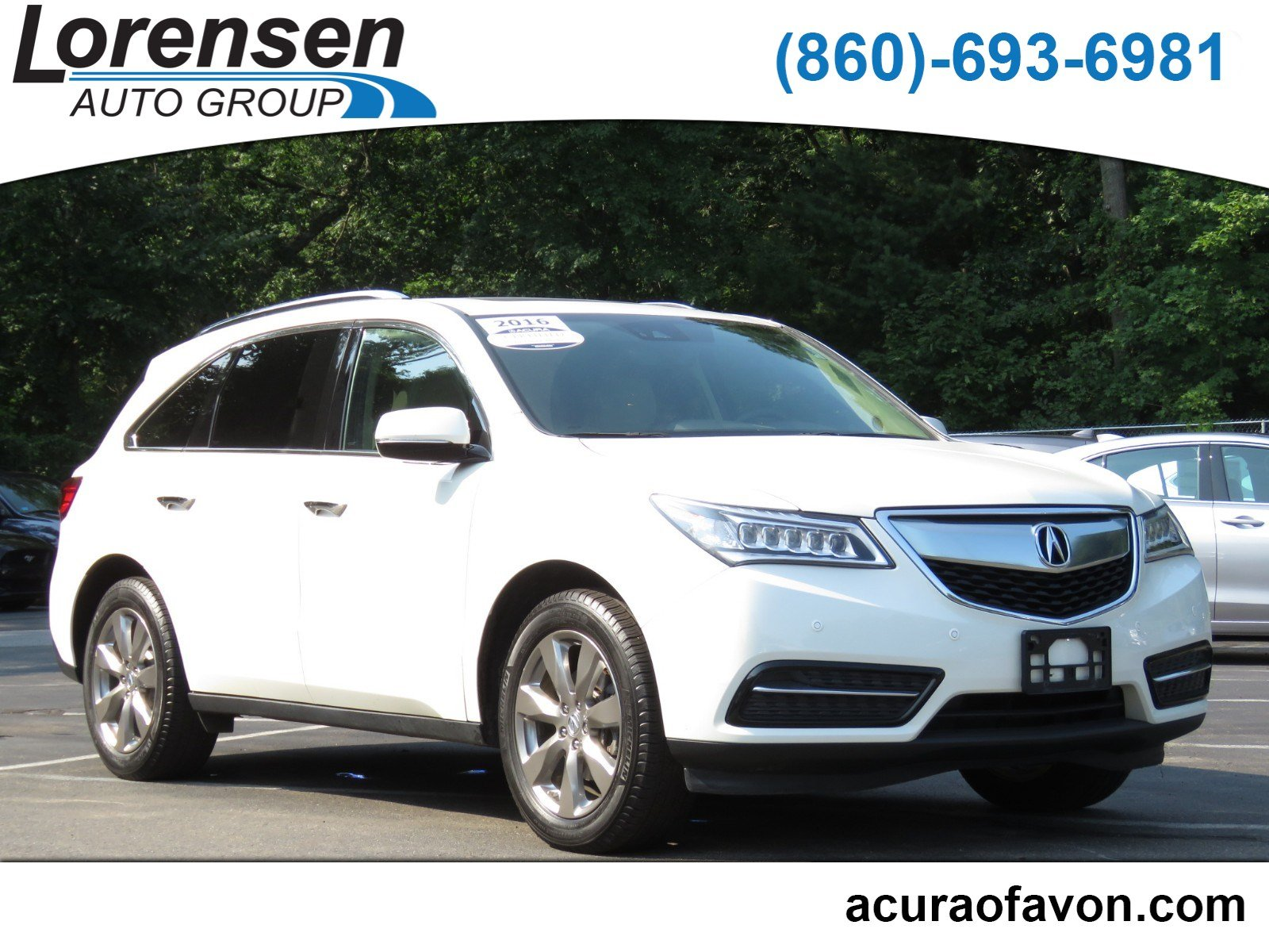 Certified PreOwned Acura MDX WAdvanceEntertainment Sport - Acura mdx pre owned