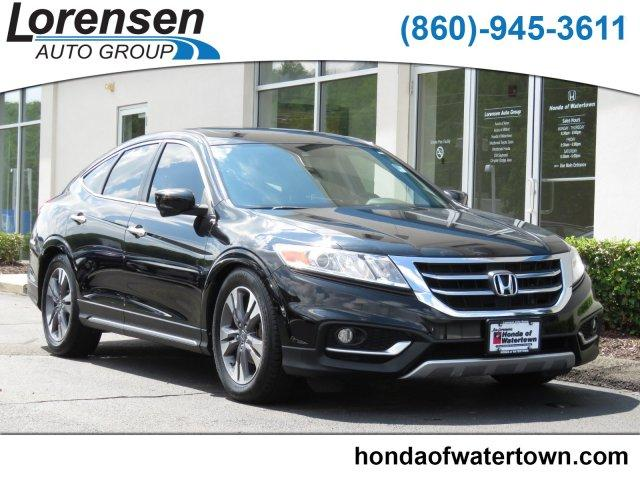 Pre-Owned 2013 Honda Crosstour 4WD V6 5dr EX-L 4dr Car in Watertown ...
