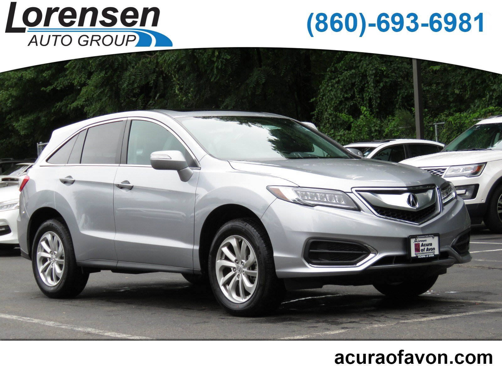 Certified Pre Owned 2018 Acura RDX w Technology Pkg Sport Utility in
