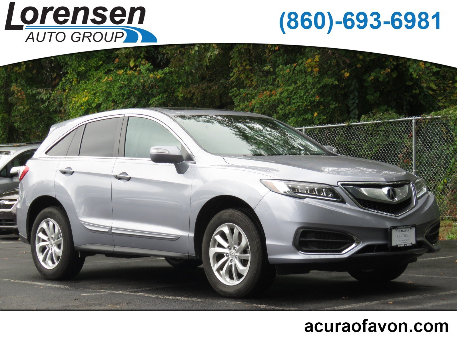 Certified Pre Owned 2016 Acura RDX Tech AcuraWatch Plus Pkg Sport