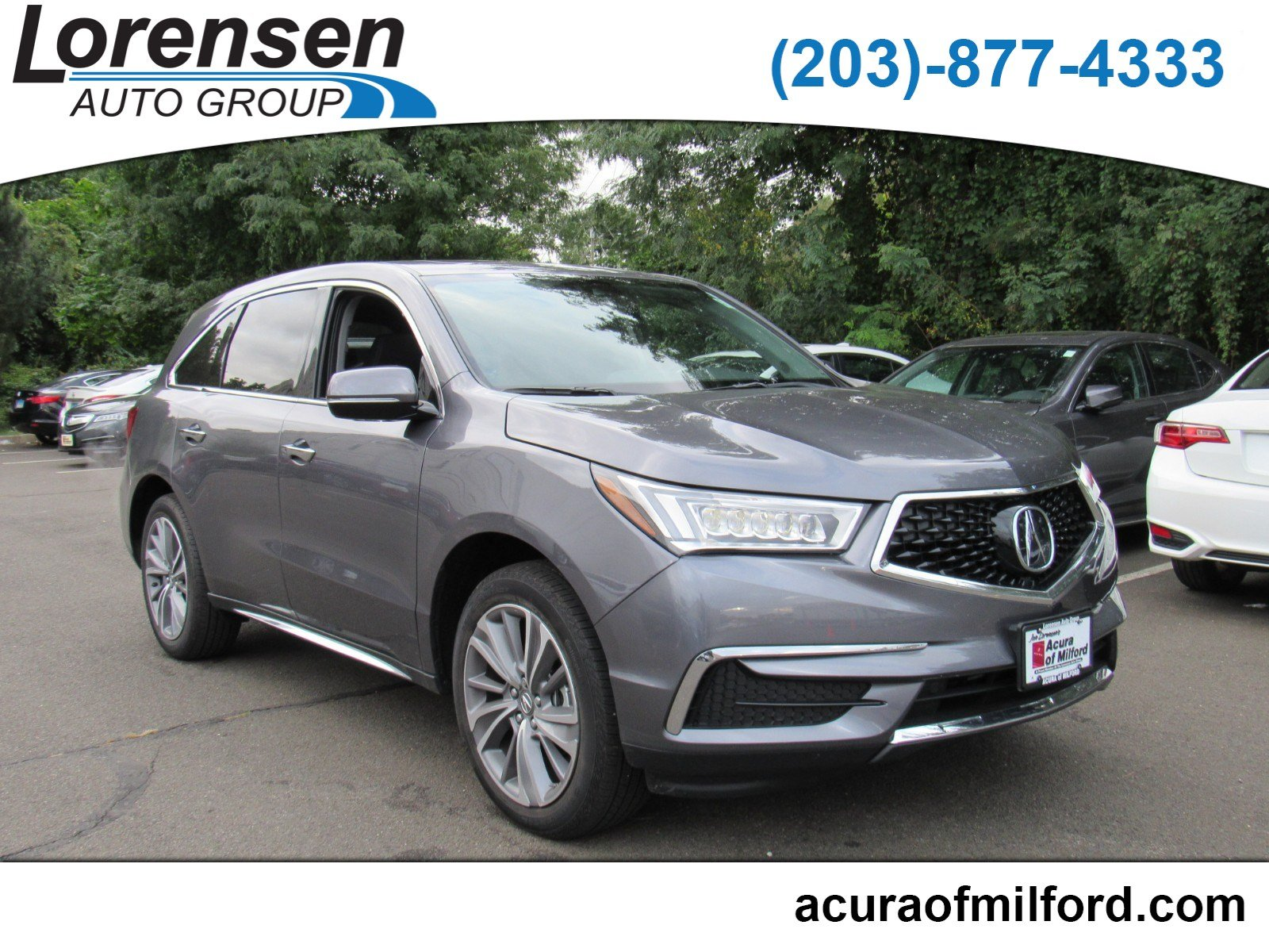 PreOwned Acura MDX WTechnology Pkg Sport Utility In Watertown - Www acura mdx 2018