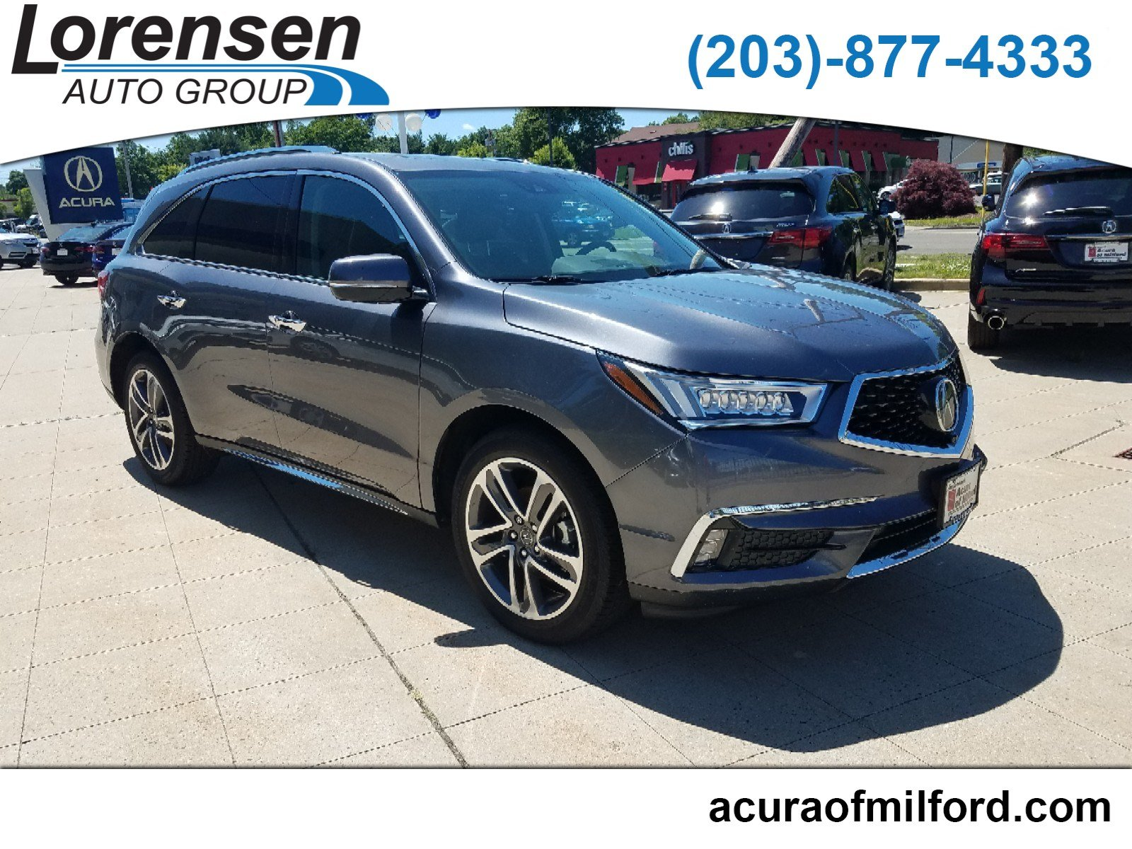 Certified Pre-Owned 2018 Acura MDX w/Advance Pkg