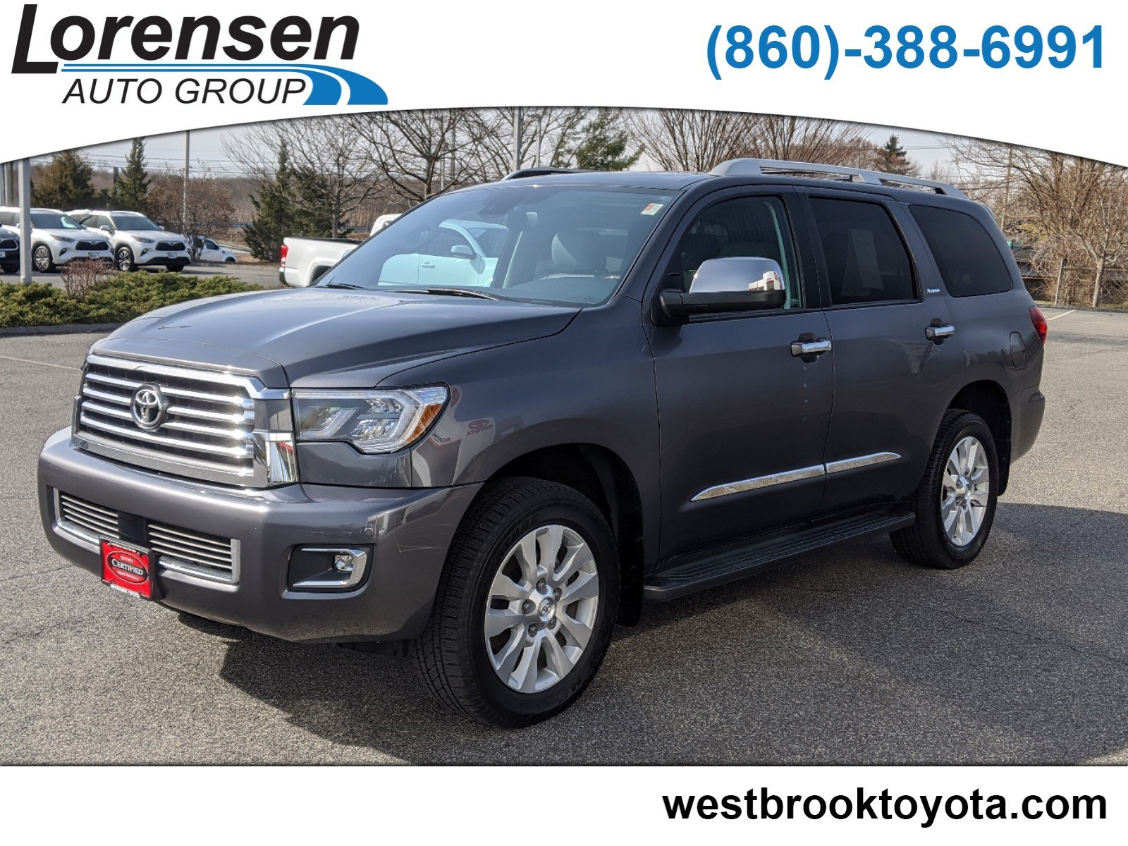 Certified Pre-Owned 2020 Toyota Sequoia Platinum
