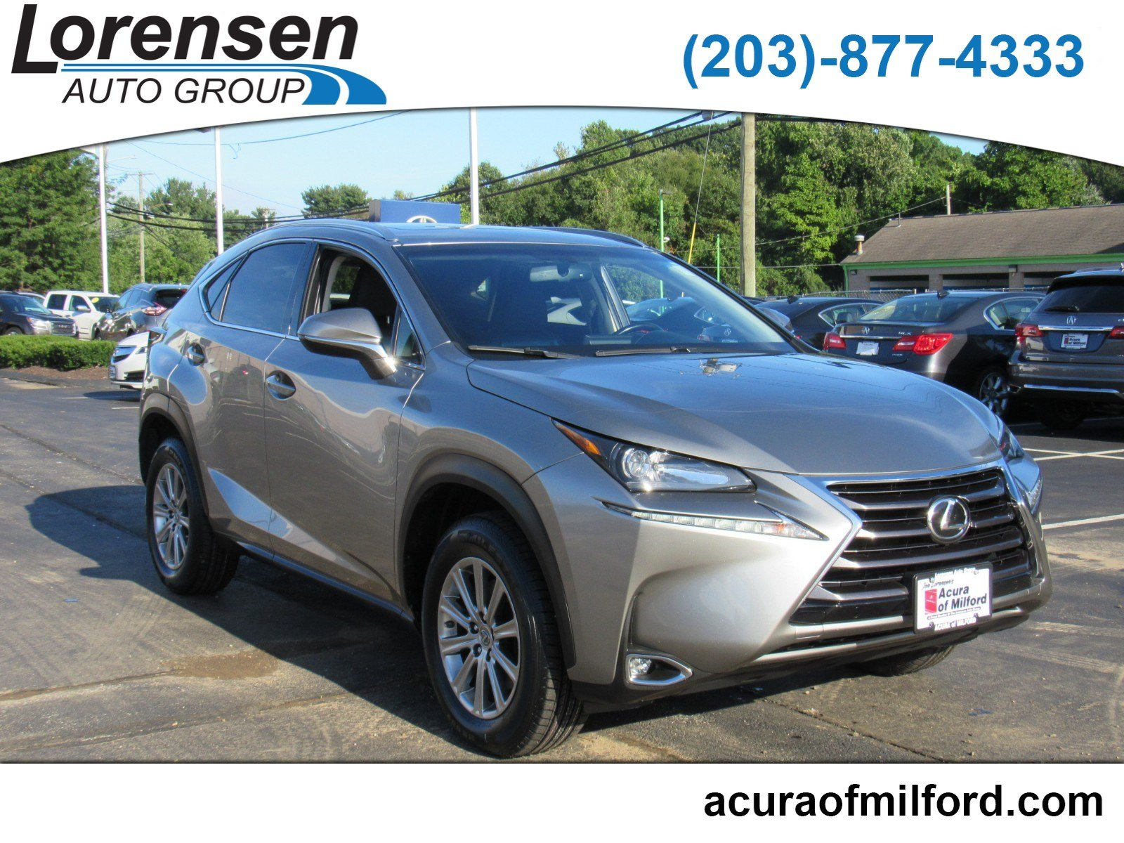 Pre Owned 2015 Lexus NX 200t AWD 4dr
