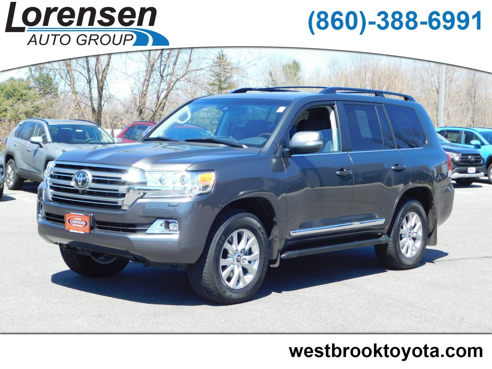 Certified Pre Owned 2019 Toyota Land Cruiser