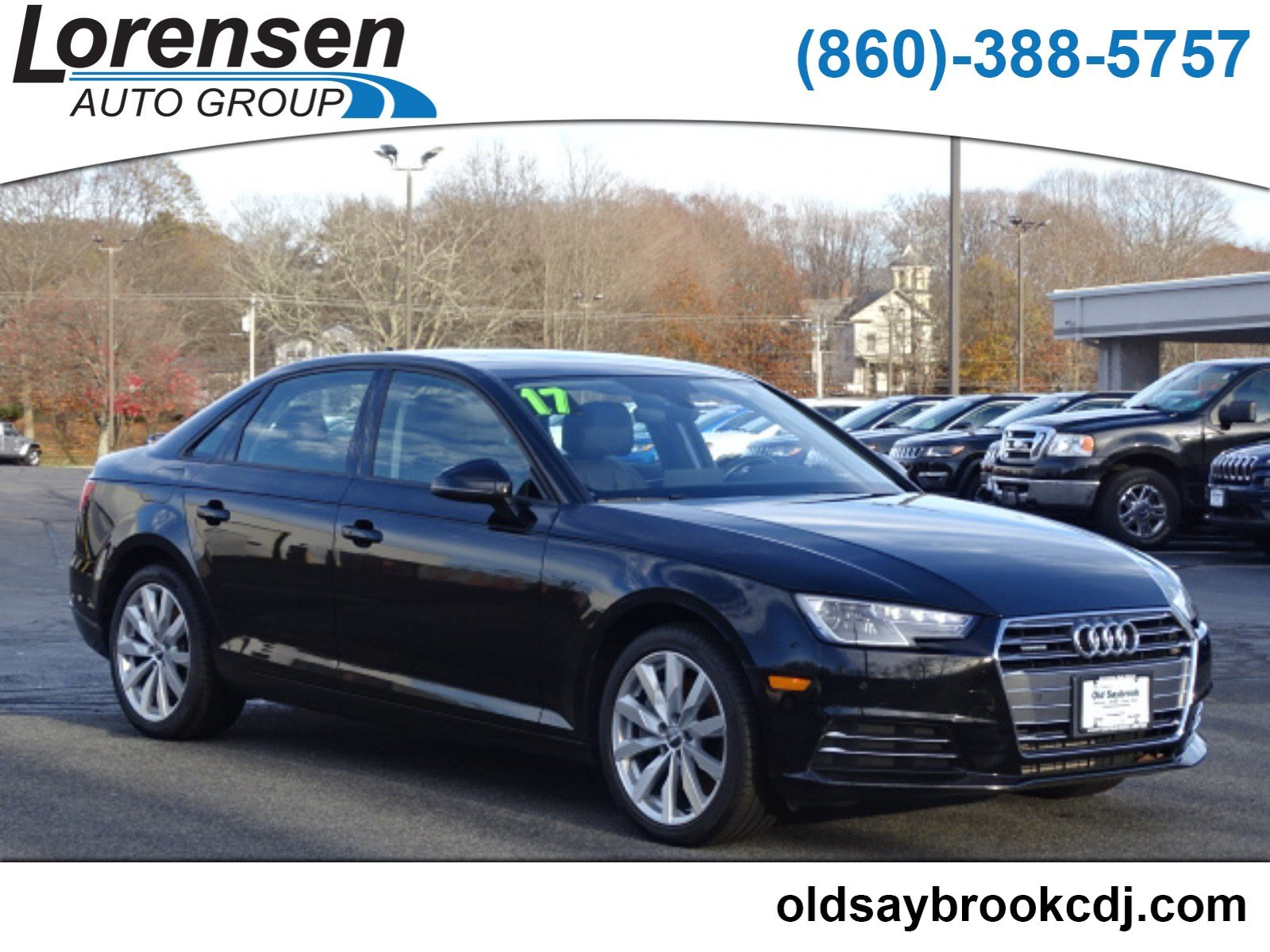 Pre Owned 2017 Audi A4 Premium 4dr Car in Watertown A