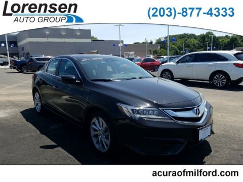 Certified Pre-Owned 2018 Acura ILX w/Technology Plus Pkg