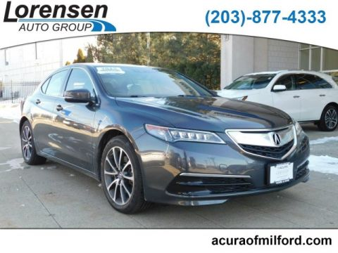 Certified Pre-Owned 2015 Acura TLX V6 Tech