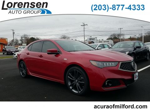 Certified Pre-Owned 2018 Acura TLX w/A-SPEC Pkg
