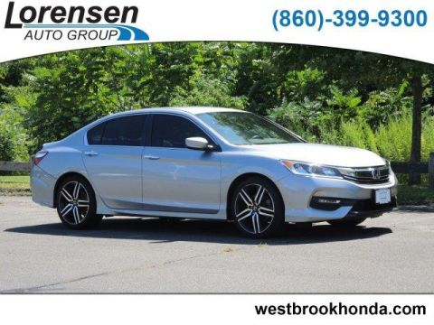 Certified Pre-Owned 2017 Honda Accord Sport SE CVT