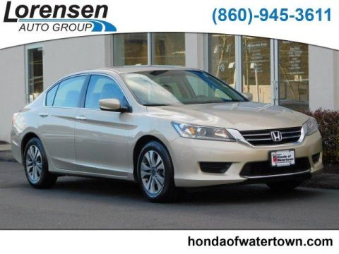 Certified Pre-Owned 2014 Honda Accord 4dr I4 CVT LX