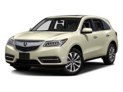 Certified Pre-Owned 2016 Acura MDX w/Tech