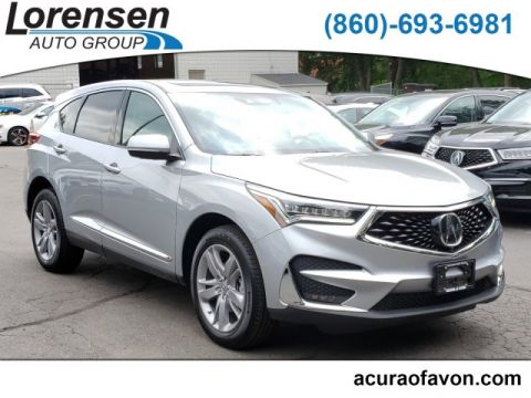 Certified Pre-Owned 2019 Acura RDX w/Advance Pkg