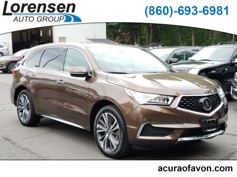 Certified Pre-Owned 2019 Acura MDX w/Technology Pkg