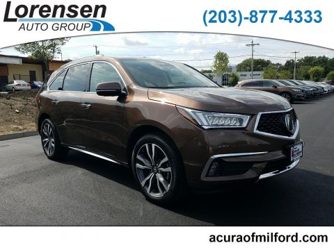 Certified Pre-Owned 2019 Acura MDX w/Advance Pkg